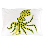 Blue Ringed Octopus Pillow Case