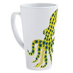 Blue Ringed Octopus 17 oz Latte Mug