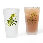 Blue Ringed Octopus Drinking Glass