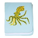 Blue Ringed Octopus baby blanket