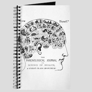 know thyself phrenology head Journal