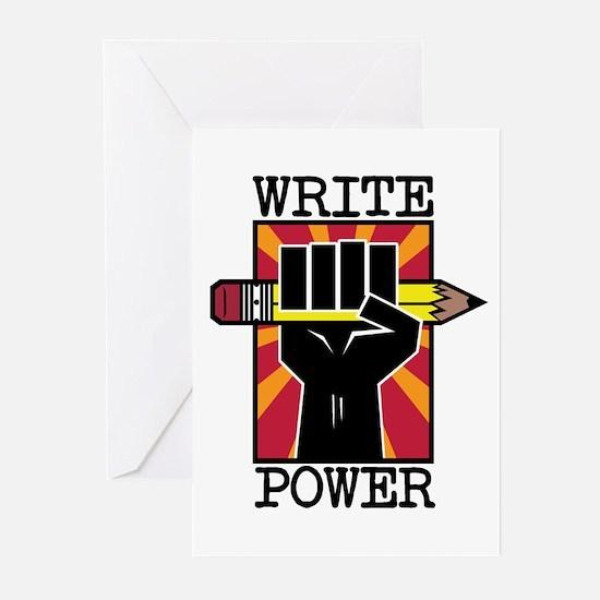 Write Power Greeting Cards (Pk of 20)
