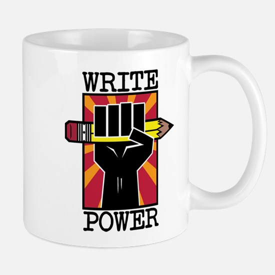 Write Power Mug