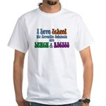 Love School-Lunch Recess White T-Shirt