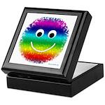 """Rainbow Fuzzy"" Keepsake Box"