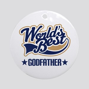 Godfather Ornament (Round)
