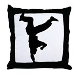 Break 1990 Throw Pillow