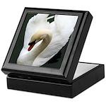 Tranquil Swan Keepsake Box