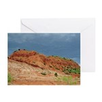 Caprock Before the Storm Hrz Greeting Cards (20)
