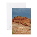 Caprock Before the Storm Vert Greeting Cards (10)