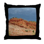 Caprock Before the Storm Throw Pillow