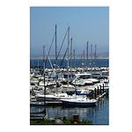 Boats in Harbor Vertical Postcards (8)