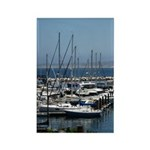 Boats in Harbor Vertical Magnets (100)