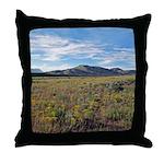 Mountain Field Throw Pillow