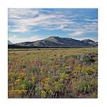 Mountain Field Tile Coaster