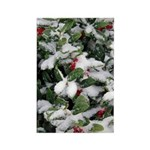 Snowy Holly Vertical Magnets (100)