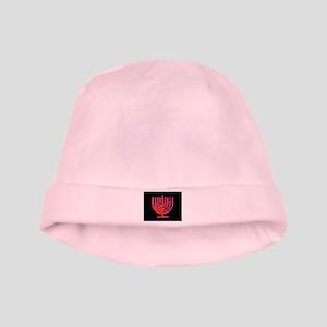 Hanukkah Menorah Holidays Baby Hat Infant Cap