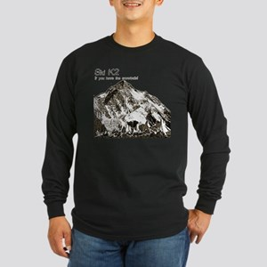K2-Ski Long Sleeve Dark T-Shirt