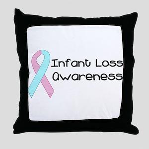 Infant Loss Awareness Throw Pillow