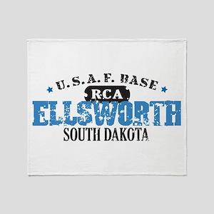 Ellsworth Air Force Base Throw Blanket