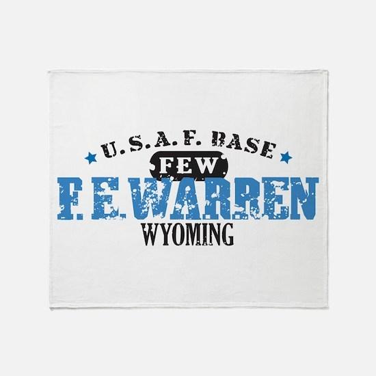 F E Warren Air Force Base Throw Blanket