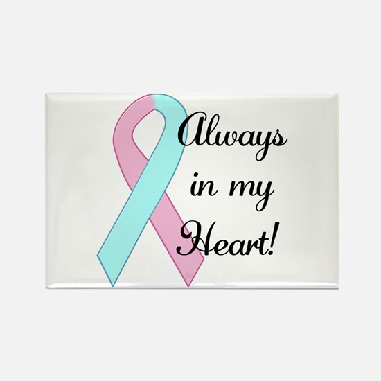 Always in my Heart - Infant L Rectangle Magnet