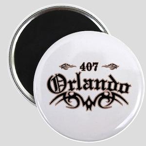 Orlando 407 Magnet