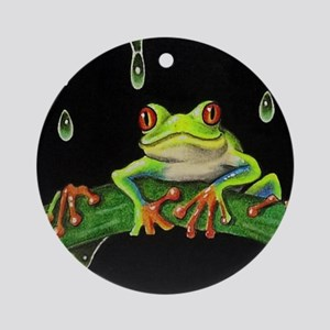 Tree Frog Ornament (Round)