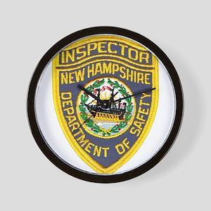 New Hampshire Inspector Wall Clock