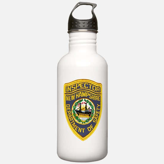 New Hampshire Inspector Water Bottle
