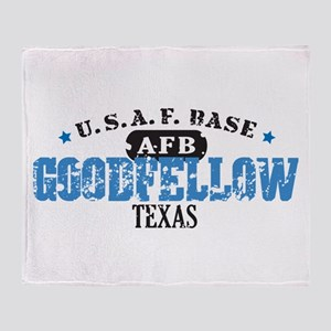 Goodfellow Air Force Base Throw Blanket