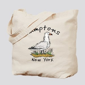 Hamptons NY Seagull Tote Bag