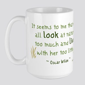 Seems to Me Large Mug