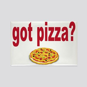 got pizza? Rectangle Magnet