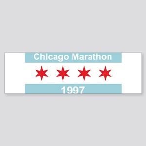 1997 Chicago Marathon Sticker (Bumper)