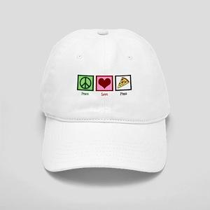 Peace Love Pizza Cap