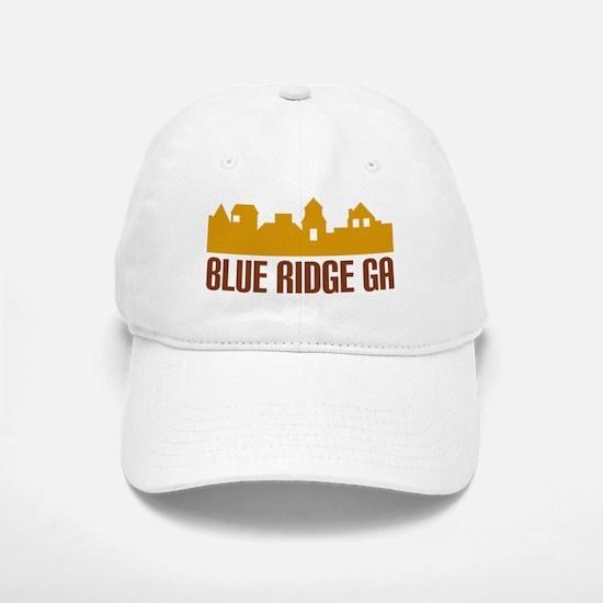 Blue Ridge Georgia Baseball Baseball Cap