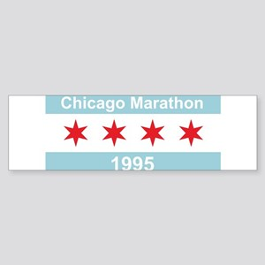 1995 Chicago Marathon Sticker (Bumper)