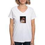 lush lips Women's V-Neck T-Shirt