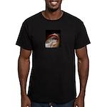 lush lips Men's Fitted T-Shirt (dark)