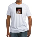 lush lips Fitted T-Shirt