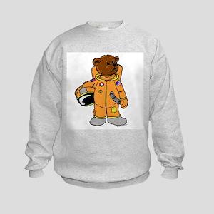 Buzz the Astronaut Bear Kids Sweatshirt