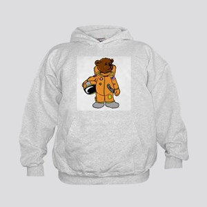 Buzz the Astronaut Bear Kids Hoodie