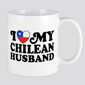 I Love My Chilean Husband Mug