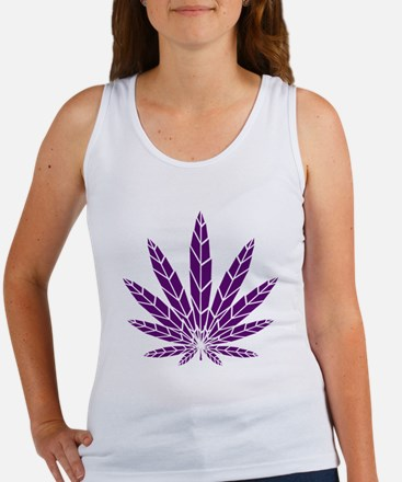 Purple Leaf Women's Tank Top