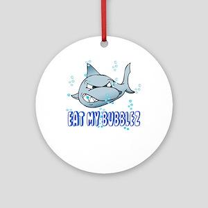Eat My Bubblez Ornament (Round)