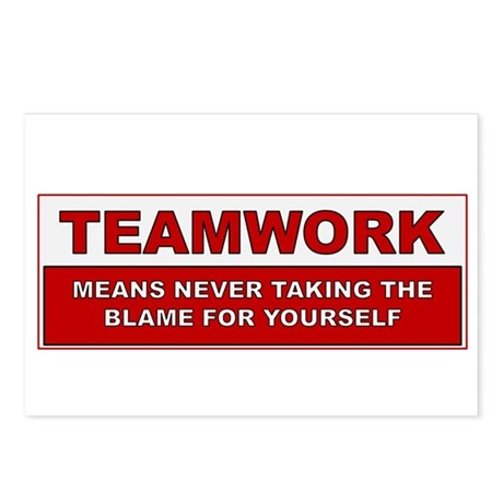 Teamwork Postcards (Package of 8)