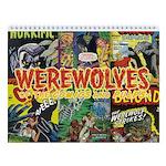 Werewolves 2018 12-Month Wall Calendar