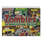 Zombies 2018 12-Month Wall Calendar