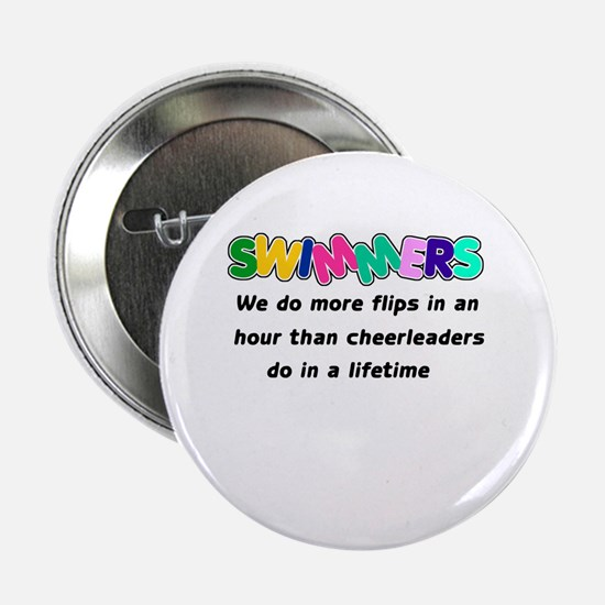 "Swimmers & Cheerleaders 2.25"" Button (10 pack)"